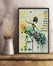 Ballet Learning to dance in the rain 11x17 Poster lifestyle-poster-3