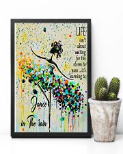 Ballet Learning to dance in the rain 11x17 Poster lifestyle-poster-8
