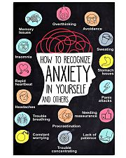 How To Recognize Anxiety In Yourself And Others 11x17 Poster front