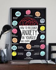 How To Recognize Anxiety In Yourself And Others 11x17 Poster lifestyle-poster-2