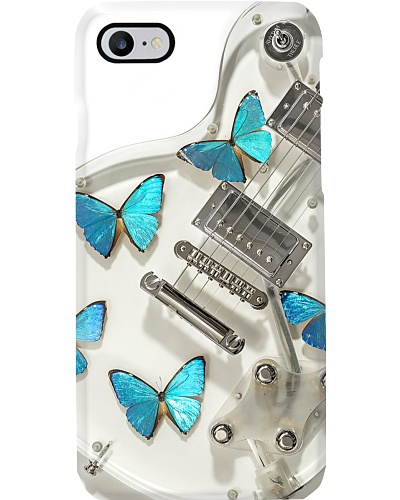 Guitar White Butterfly