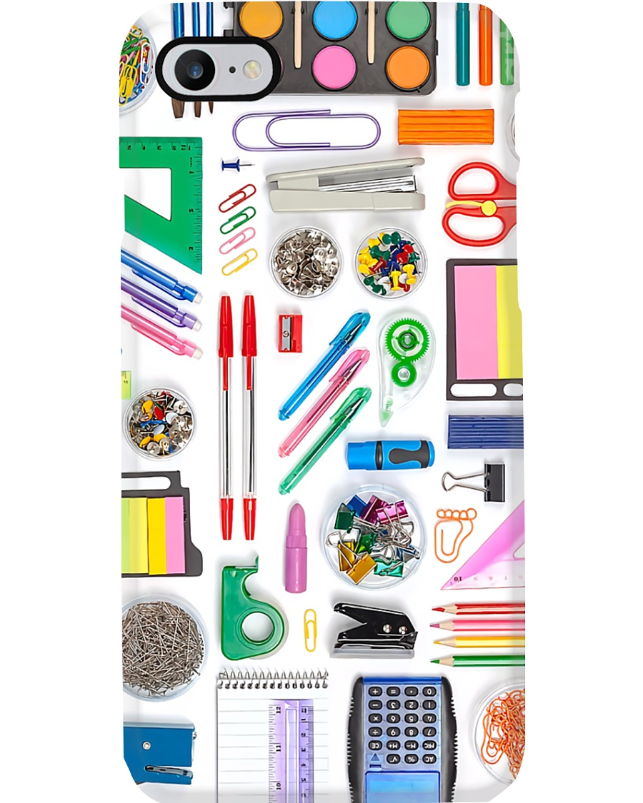 Teacher Real Cool Items Phone Case