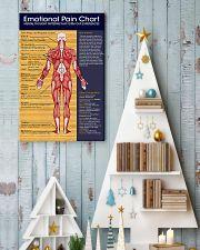Massage Therapist Emotional Pain Chart 11x17 Poster lifestyle-holiday-poster-2