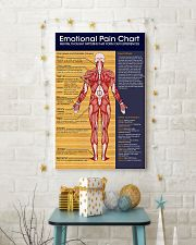 Massage Therapist Emotional Pain Chart 11x17 Poster lifestyle-holiday-poster-3