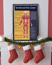 Massage Therapist Emotional Pain Chart 11x17 Poster lifestyle-holiday-poster-4