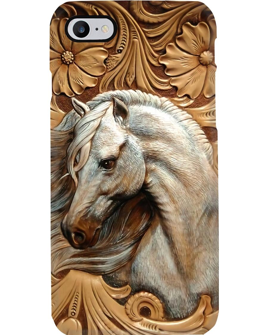 Horse Girl - While Horse Phone Case