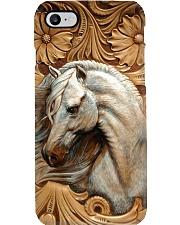 Horse Girl - While Horse Phone Case i-phone-7-case