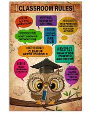 Teacher Classroom Rules  11x17 Poster front