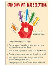 Social Worker Calm Down 11x17 Poster front