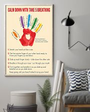 Social Worker Calm Down 11x17 Poster lifestyle-poster-1