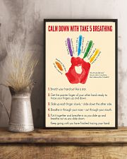 Social Worker Calm Down 11x17 Poster lifestyle-poster-3