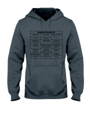 Social Worker Comparative Therapies Hooded Sweatshirt thumbnail