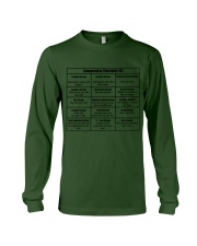 Social Worker Comparative Therapies Long Sleeve Tee thumbnail