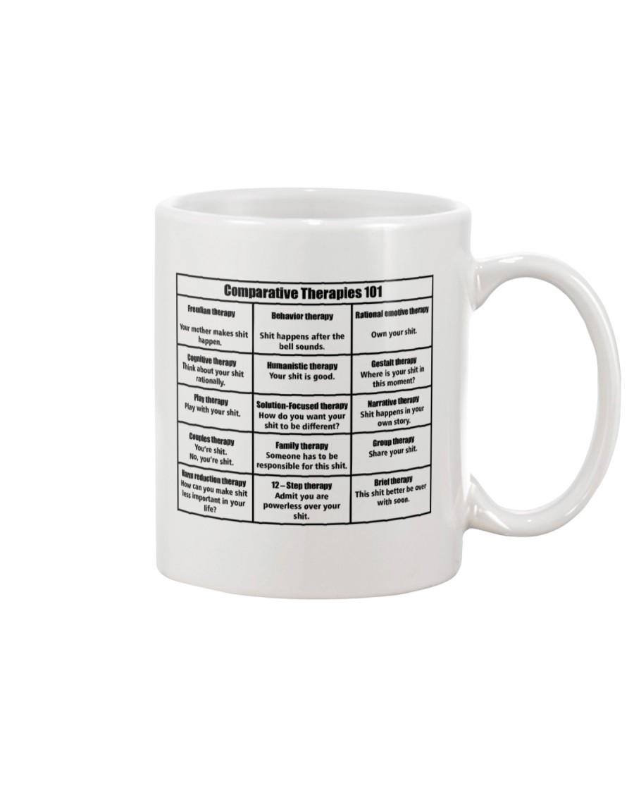 Social Worker Comparative Therapies Mug