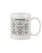 Social Worker Comparative Therapies Mug front