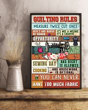 Quilting Rules Sewing  11x17 Poster lifestyle-poster-3