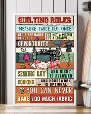 Quilting Rules Sewing  11x17 Poster lifestyle-poster-4