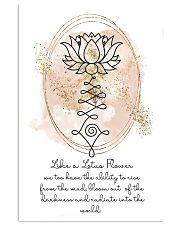 Yoga Like a lotus flower 11x17 Poster front