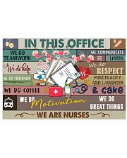 Nurse In this office Poster 17x11 Poster front