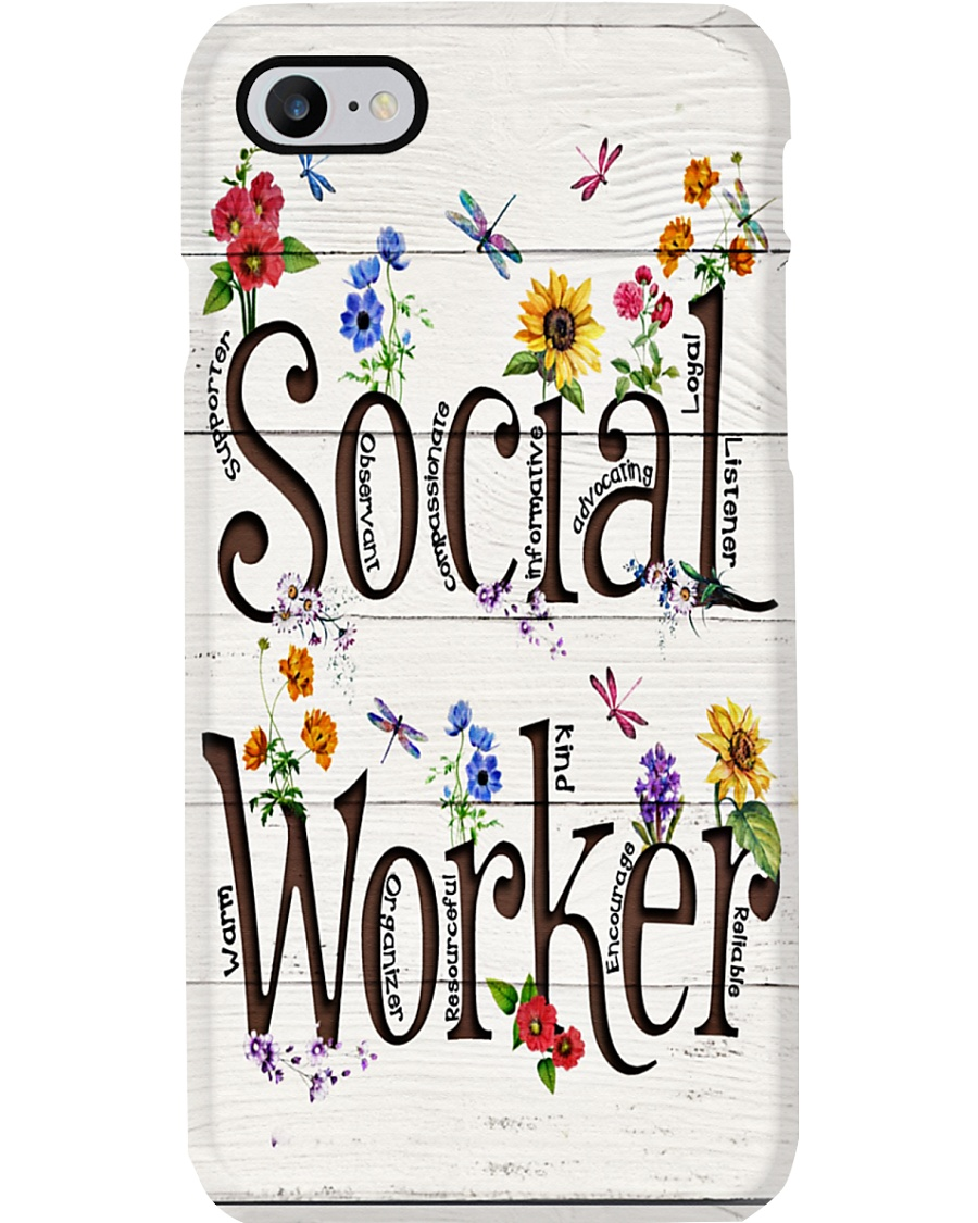 Social Worker Phone Case