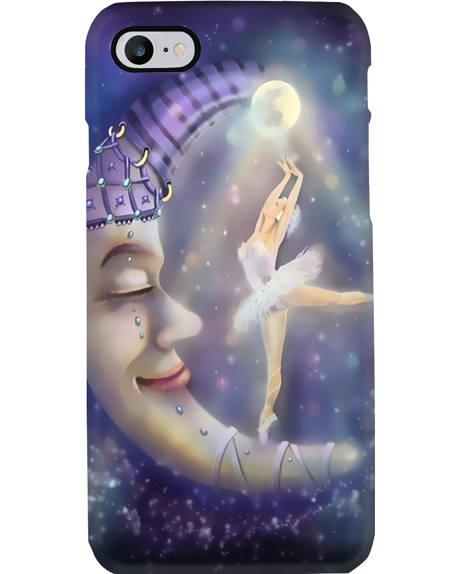 Ballet Girl And Moon Phone Case