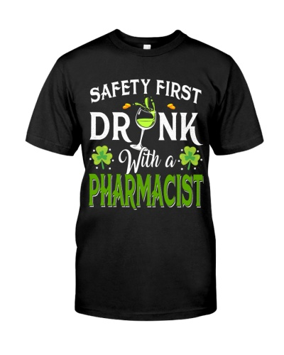 Safety first Drink with a pharmacist