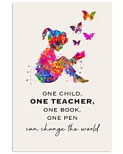 Teacher Can Change The World 11x17 Poster front