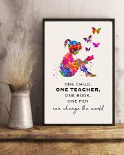 Teacher Can Change The World 11x17 Poster lifestyle-poster-3
