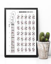 Bass Guitar Chord Notes 11x17 Poster lifestyle-poster-8