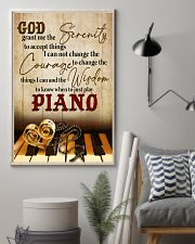 Pianist the wisdom to know when to just play piano 11x17 Poster lifestyle-poster-1