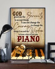 Pianist the wisdom to know when to just play piano 11x17 Poster lifestyle-poster-2