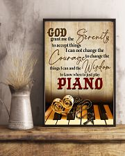 Pianist the wisdom to know when to just play piano 11x17 Poster lifestyle-poster-3