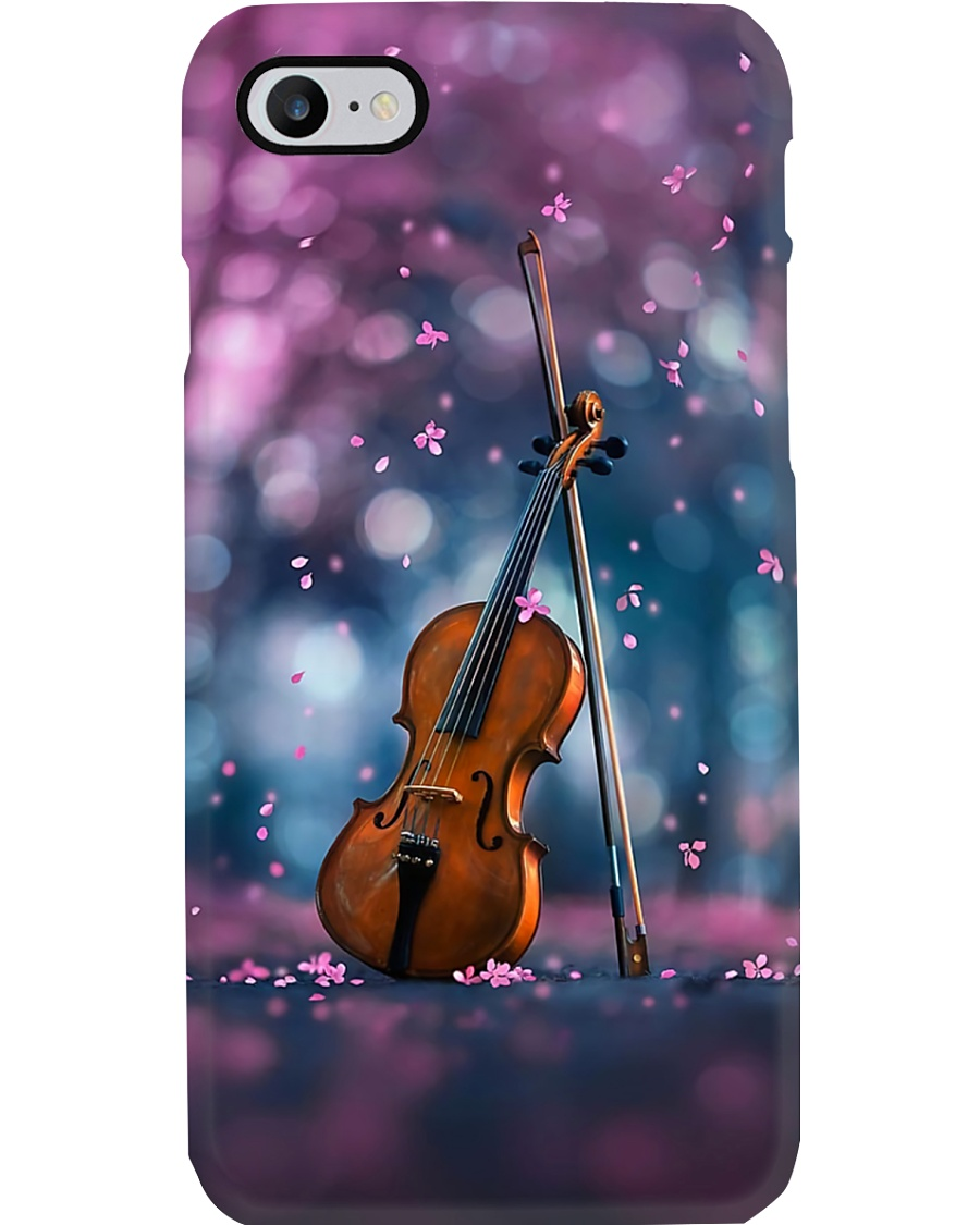 Violin With Flower Phone Case