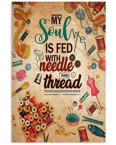 My Soul Is Fed With Needle And Thread Sewing