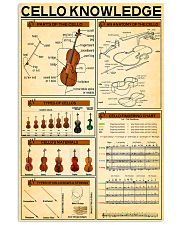 Cello Knowledge 11x17 Poster front