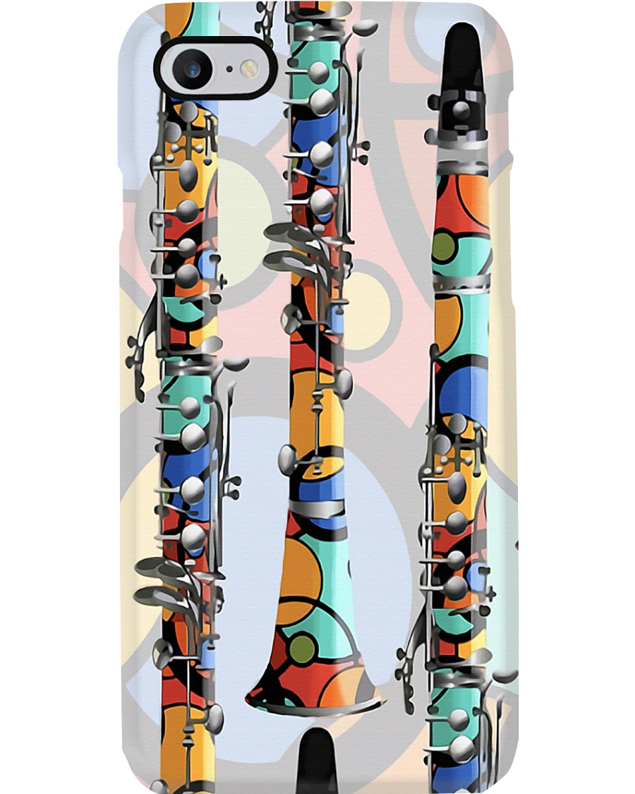 Colorful Clarinets Phone Case