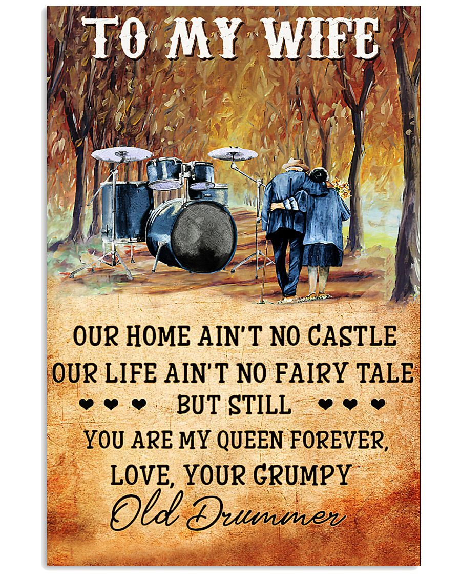 Drummer To My Wife - You Are My Queen Forever 11x17 Poster