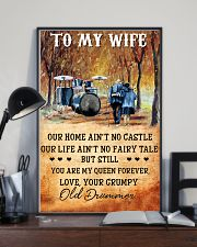 Drummer To My Wife - You Are My Queen Forever 11x17 Poster lifestyle-poster-2