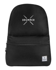 Drummer with sticks Backpack thumbnail