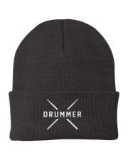 Drummer with sticks Knit Beanie thumbnail