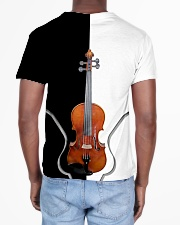 Violin Black And White All-over T-Shirt aos-all-over-T-shirt-lifestyle-back-02