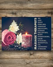 Massage Therapist Stress Relieving 24x16 Poster poster-landscape-24x16-lifestyle-15