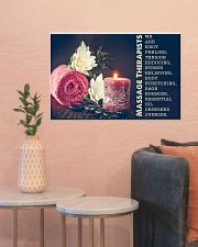 Massage Therapist Stress Relieving 24x16 Poster poster-landscape-24x16-lifestyle-22