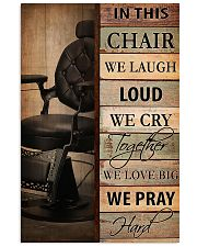 Hairdresser In This Chair We Love Big 11x17 Poster front