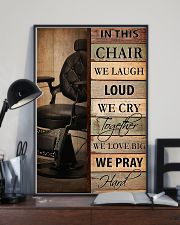 Hairdresser In This Chair We Love Big 11x17 Poster lifestyle-poster-2