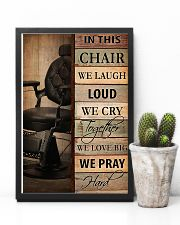 Hairdresser In This Chair We Love Big 11x17 Poster lifestyle-poster-8