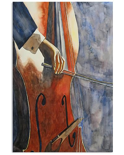 Contrabass Player Talented Hand