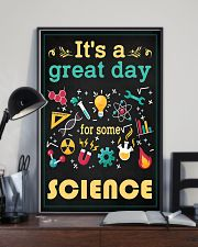 Scientist It's A Great Day For Some Science 11x17 Poster lifestyle-poster-2