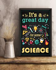 Scientist It's A Great Day For Some Science 11x17 Poster lifestyle-poster-3