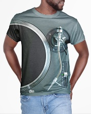 DJ Turntable All-over T-Shirt aos-all-over-T-shirt-lifestyle-front-04